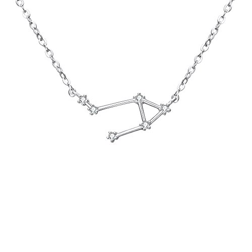 - BriLove 925 Sterling Silver Necklace -