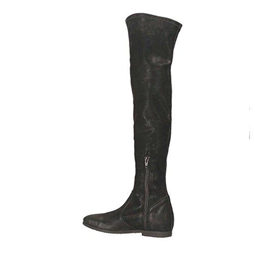 Grace Shoes C16 Botas Mujeres Negro