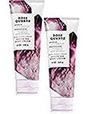 Bath and Body Works 2 Pack Rose Quartz Body Cream 8 Oz.