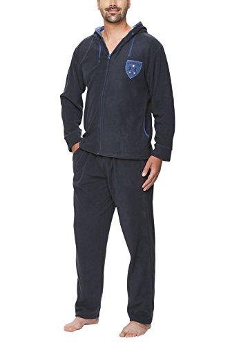 Fleece-Anzug für Herren - SLOUCHER, Farbe:navy;Größe:XXL