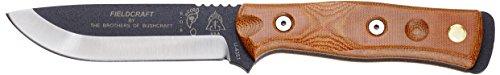 Tops Knives B.O.B. Brothers of Bushcraft Knife w/ Tan Handle
