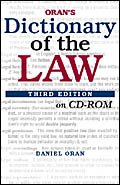 Dictionary of the Law (CD-ROM)