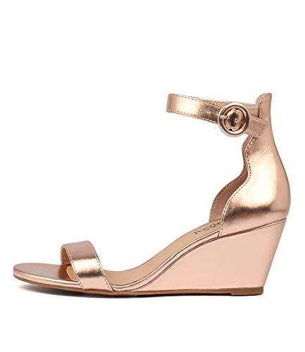 I LOVE BILLY Miriah Womens Shoes Medium Heels Summer Wedges ROSE GOLD SMOOTH