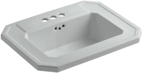 KOHLER K-2325-4-95 Kathryn Self-Rimming Bathroom Sink with 4