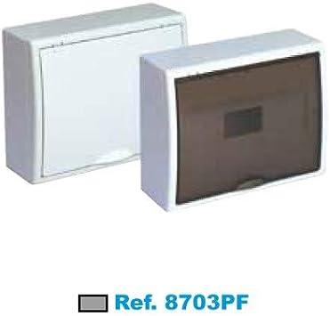 SOLERA 8703 Caja de Distribución, Blanco: Amazon.es: Bricolaje y ...