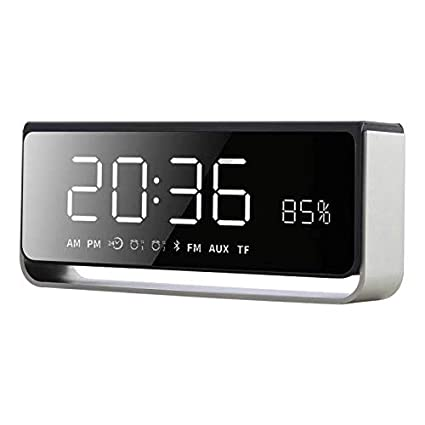 Amazon.com: HWTP Led de alarma de reloj Digital con Radio FM ...