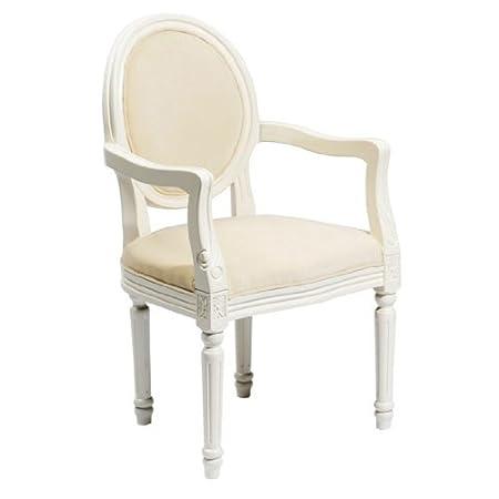 Superieur Louis Style Cream Boudoir Chairs, 2402007