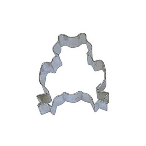 Dress My Cupcake DMC41CC1233 Frog Cookie Cutter, 3-Inch