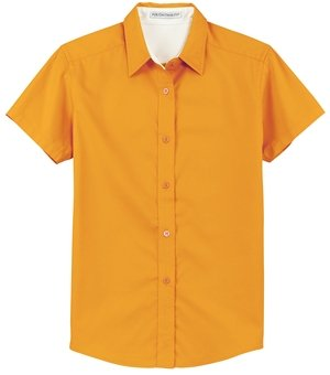 Port Authority - Ladies Easy Care Short Sleeve Shirt L508 (1X / Athletic Gold... ()