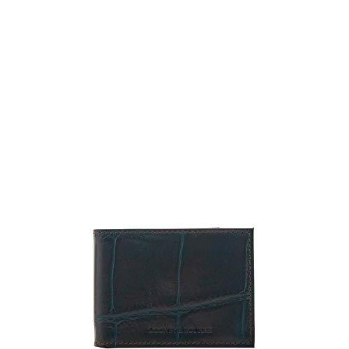 - Dooney & Bourke Men's Croco Billfold, Espresso 8953-4
