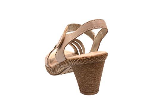 Remonte Damen Sandale/Sandalette staub/antique/altsil (Grau) D105442