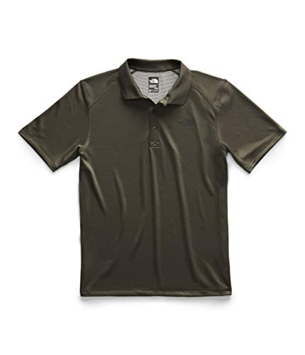 - The North Face SS Horizon Polo - Men's New Taupe Green Small