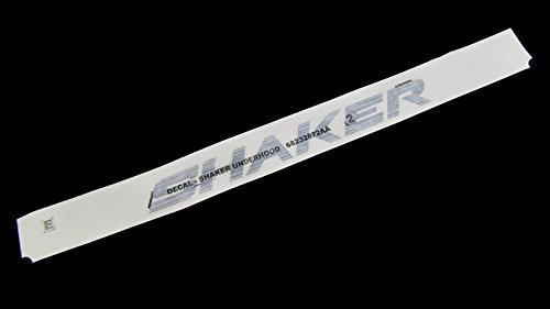 2014 Dodge Challenger SHAKER BADGE DECAL STICKER FOR UNDER HOOD OEM NEW MOPAR (Shaker Challenger Hood)