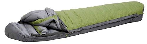 Exped WaterBloc 1000 Sleeping Bag, Green/Grey, Medium, Right (Nylon Bag Sleeping Exped)