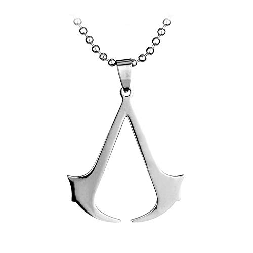 OK-STORE Desmond Metal Necklace, Conner Stainless Steel ()