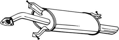 Endschalld/ämpfer 1220-1514 D/ämpfer Abgasanlage
