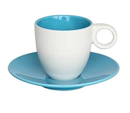 LLA Color personalizado 7 tazas de café de cerámica creativa Continental Espresso Coffee Cup