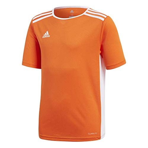 adidas Youth Entrada 18 Jersey, Orange/White, ()