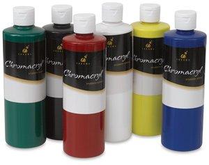 Chromacryl Premium Students Acrylic Paint Set, 1 pt, Asso...