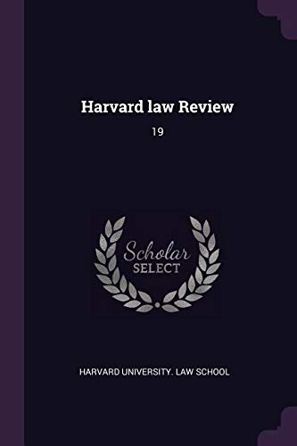 Harvard Law Review: 19 pdf