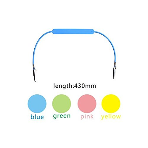 Clip Napkin Stainless (Easyinsmile 4 PCS silicone bib or napkin clip holder Blue,Pink,Green,Yellow)