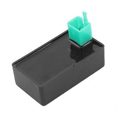 Amazon.com: eDealMax Negro carcasa 5 Pin CDI encendedor ...
