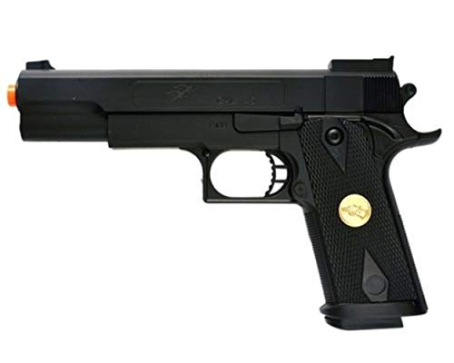 (AirSoft Double Eagle P169 1911 Hand Gun Full Size Spring Pistol w 6mm BBS BB)