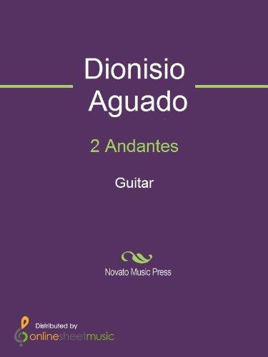 Book Music Guitar Andante - 2 Andantes - Guitar