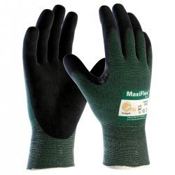3 Pack 34-874 MaxiFlex Ultimate Nitrile Grip Work Gloves Sizes S-XL (Small) by Maxiflex by Maxiflex (Image #1)