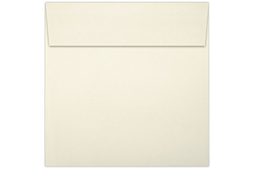 5 x 5 Square Envelopes w/Peel & Press - 70lb. Natural (50 Qty.) | Perfect For Thank You Notes, RSVPs, Greeting Cards, Weddings or any Announcement | 8505-03-50