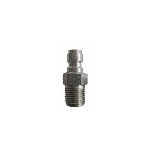 ALEKO PBFNV28 Stainless Steel Paintball Air Regulator Fill Nipple HPA/N2 Tank Fill Nipple