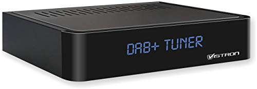 Vistron Youtune 1 DAB+ radio-tuner, digitale DAB-radio-adapter (HiFi-systeem + AV-receiver uitbreiding), FM / FM-radio…