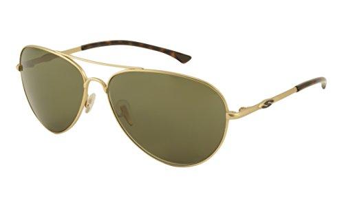 Smith Sunglasses - Audible / Frame: Semi Matte Gold Lens: Polarized - Smith Audible Sunglasses