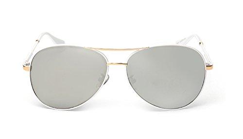 Starry Modern Fashion Design Polarization Resin Lens Sunglasses (white, - Melbourne Bans Ray