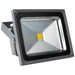 Proyector LED Slim 20 W IP65 220 V Luz Natural 4000 K a + 1400 LM ...