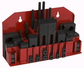 42 Piece Machinist Clamping Kit with 12 Pairs of Step Blocks by Harbor Freight Tools