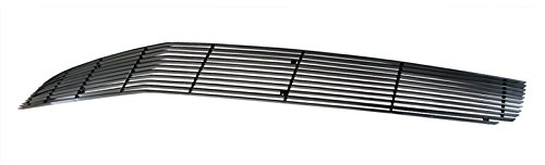 MaxMate 10-13 Chevy Camaro Bolton Upper 1PC Phantom Horizontal Billet Black Powder Coated Aluminum Grille Grill Insert Camaro Billet Grill