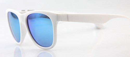 sol polarizada sol Bluetooth Shop conductor Enmarcado Gafas de Azul y sol polarizadas Gafas masculinas marco Blanco gafas femeninas luz de de de circular 6 espejo gafas 7qwZB7Y