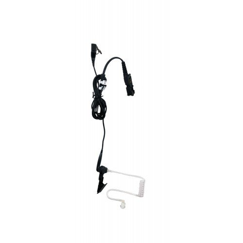 Motorola Original (OEM) PMLN5724A 2 Wire Surveillance Kit - Black - XPR3300, XPR3500