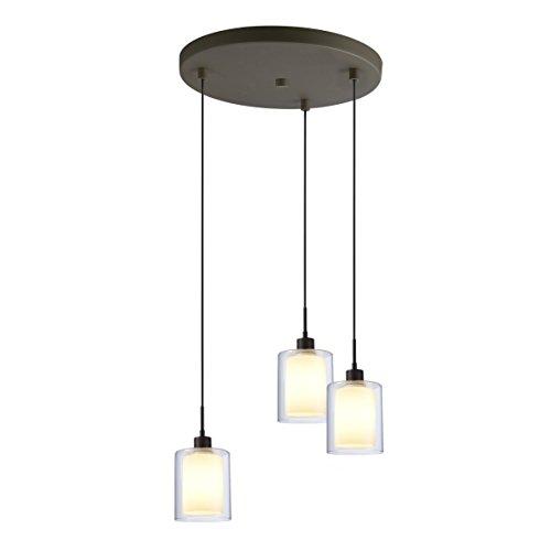Woodbridge Lighting 14724MEB-C10651 14724MEB Alaina 3-Light Cluster