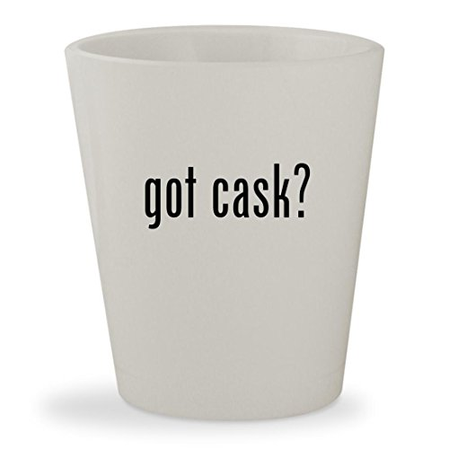 Laphroaig Quarter Cask - got cask? - White Ceramic 1.5oz Shot Glass
