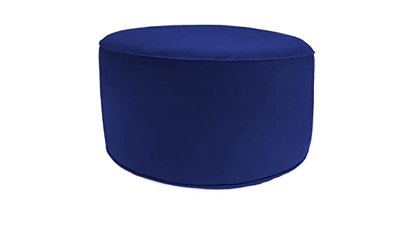Charcoal Christopher Knight Home 307995 Crystal Cay Outdoor Water Resistant 2 Ottoman Pouf