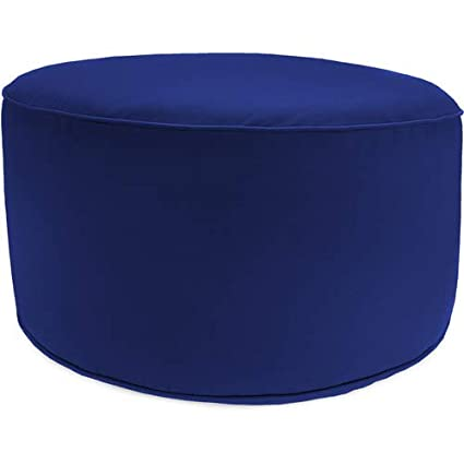 Amazon Jordan Manufacturing Round Outdoor PoufOttoman Mesmerizing Outdoor Pouf Footstool