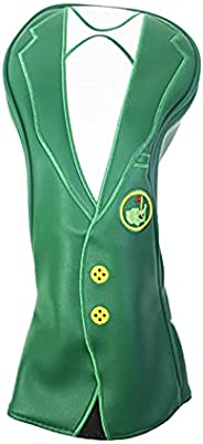 NEWMIND Novelty Golf Wood Headcover Green Drivers Covers 400cc Utility Protector Guard Golfer Gift Protection