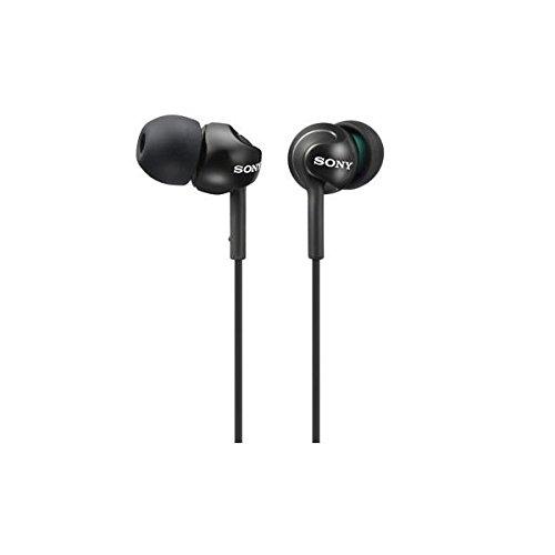 Sony EX Series MDR EX110LPBQ Monitor Headphones  Black