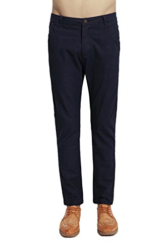 pau1hami1ton-ph-07-mens-flat-front-slim-tapered-stretch-casual-pant-36-blue