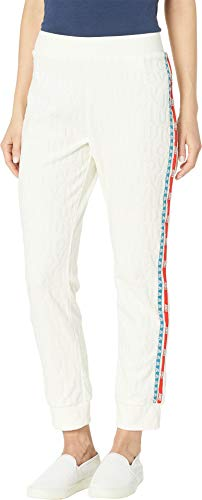 Juicy Couture Women's Juicy Jacquard Velour Slim Pants Angel Small 28 ()