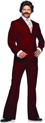 Ron Burgundy Suit Adult Costume Size X-Large