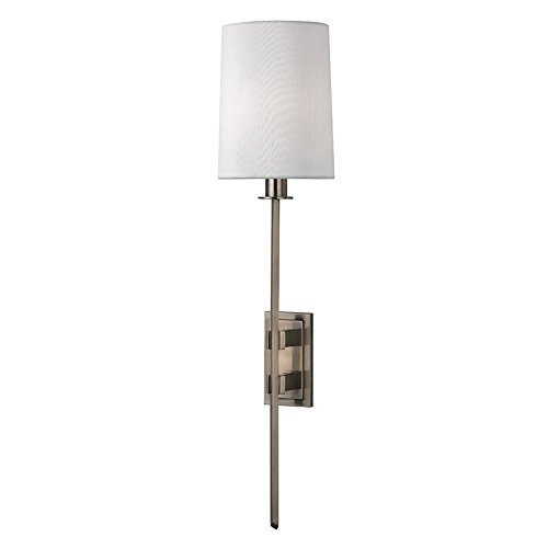 Hudson Valley Lighting 3411-AN One Light Wall Sconce from The Fredonia Collection, Antique Nickel - Hudson Valley Lighting Nickel Antique Sconce