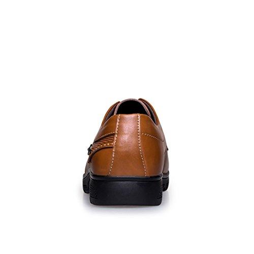 pour Marron Marron A432005080 à de Chaussures Lacets Minitoo EU Homme Ville 39 LHEU RqzAxxU